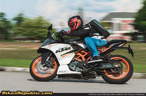 Ktm Duke 390 Test Test Ktm Duke 390 Vs Ktm Rc 390