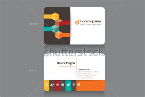 30 business card vector templates free psd designs