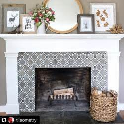 best 25 fireplace tile surround ideas on