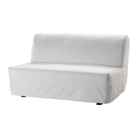 lycksele two seat sofa bed cover ransta white ikea