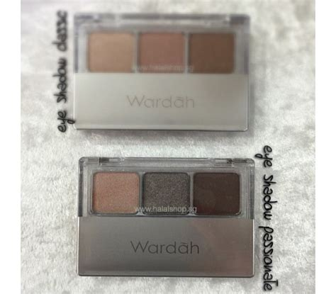 Review Wardah Eyeshadow E halal cosmetics singapore eyexpert eyeshadow
