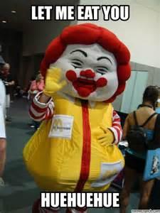 Ronald Meme - let me eat you ronald mcdonald