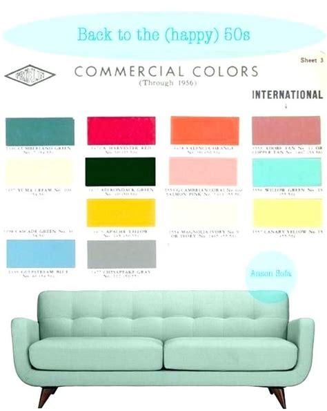 trendy mid century color palette minimalist mid century