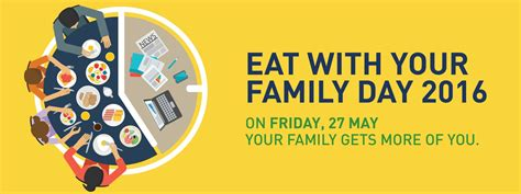day with family eat with your family day 2016 centre for fathering ltd
