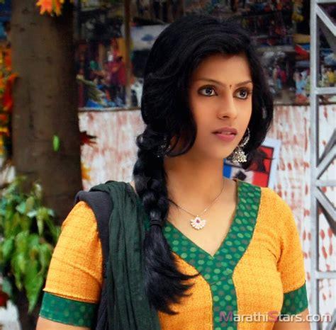 marathi stars swarda thigale marathi actress biography photos