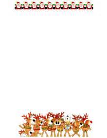 Free christmas letterhead free printable christmas letterhead 9