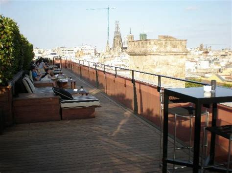 roof top bars barcelona the rooftop bar area picture of hotel 1898 barcelona