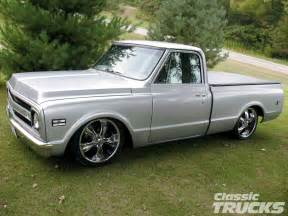 1969 Chevy Truck Custom Wheels 1969 Chevy C10 Truck Rod Network
