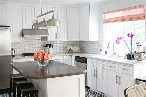 Corian Island Countertop Kitchen With Corian Countertops Transitional Kitchen