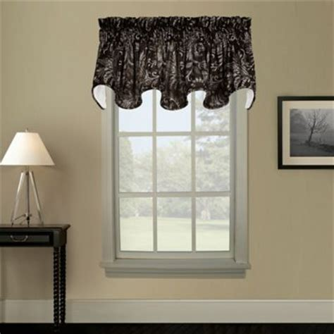 Black Valance Buy Black Valance Curtains From Bed Bath Beyond