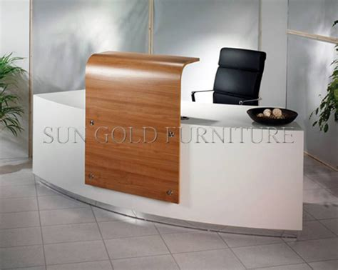 Modern Factory Outlets Curved Glass Top Cheap Small Where To Buy Reception Desk