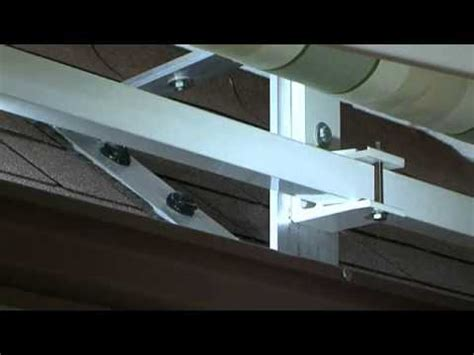 awning roof brackets roof brackets service video marygrove awnings youtube