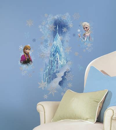 frost anna elsa kortholder originalt p 229 allposters dk disney frozen ice palace with else and anna wall decal