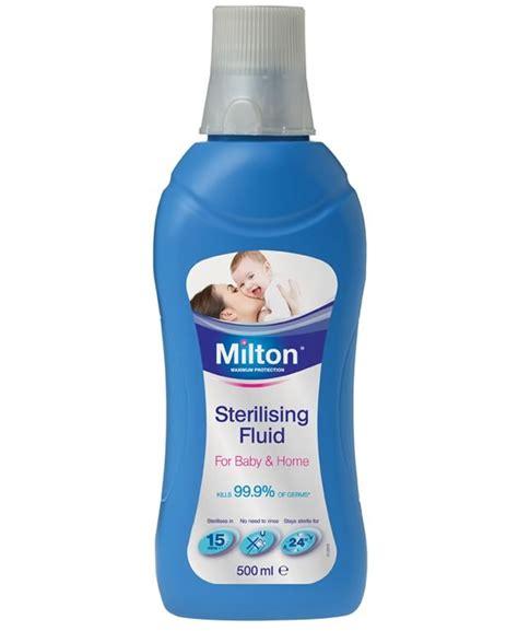 milton sterilising fluid 500ml cleaning liquid breast