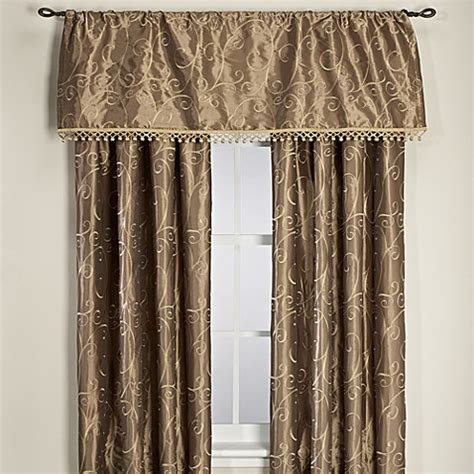 lined rod pocket curtains montebello lined rod pocket back tab window curtain panels