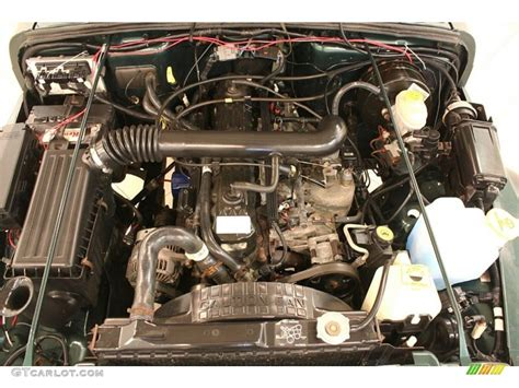 Jeep Wrangler Inline 6 Engine 2000 Jeep Wrangler Sport 4x4 4 0 Liter Ohv 12 Valve Inline