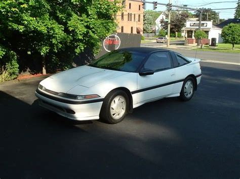manual cars for sale 1990 mitsubishi eclipse regenerative braking purchase used 1990 mitsubishi eclipse gs 2 0 turbo no reserve in brookfield connecticut united