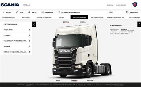 scania configurator il camion dei sogni a portata di