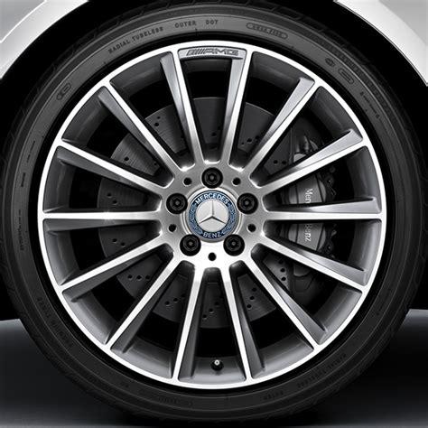 amg 19 inch alloy wheel set multi spoke wheel aluminum