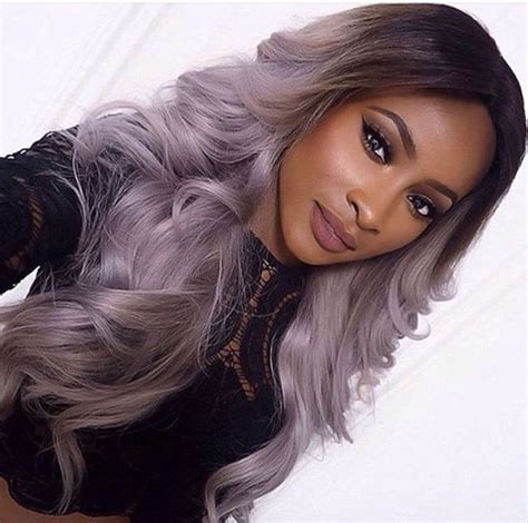 weave hairstyles with purple tips 38 best images about grey weave hair on pinterest lace