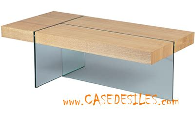 Table Basse Metal Et Verre 1604 by Table Basse Bois M 233 Tal Casedesiles