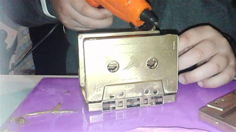 cassette musicali come riutilizzare cassette musicali