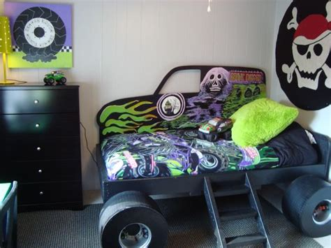 grave digger monster truck bedding monster truck grave digger bed from gabriel s special