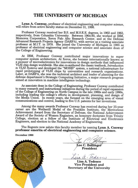 Reference Letter Service Umich of defense meritorious