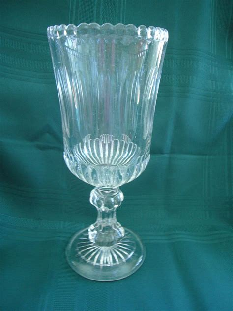 Antique Celery Vase by Antique 19th Century Clear Glass Celery Vase From Problem1