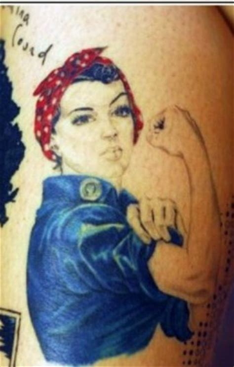 rosie the riveter tattoo rosie the riveter pinup