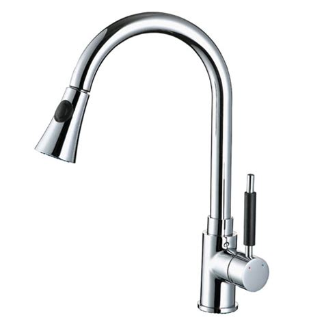 Kitchen Faucet Sale by Brush Nickel Rotatable Neck Kitchen Faucet On Sale In