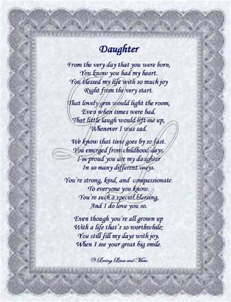 Daughter Poem