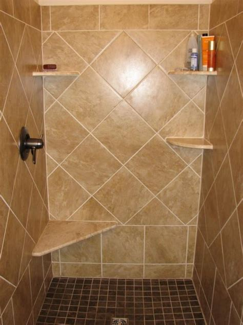Installing Tile In Shower Ceramic Tile Shower Photos