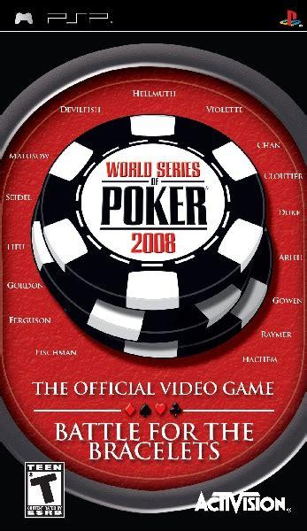 world series  poker  psp game