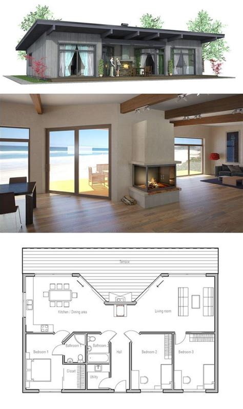 small house floor plan ideas 25 impressive small house plans for affordable home