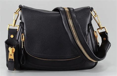 Handbag Black Scada aniston carrying tom ford large flap top