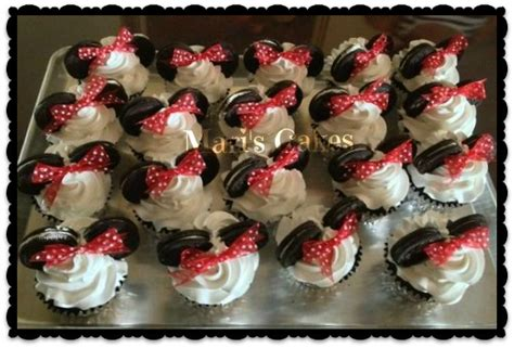 decorados in english minnie mouse chocolate cupcakes mari s cakes english