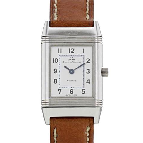 lade in acciaio orologio jaeger lecoultre reverso 321455