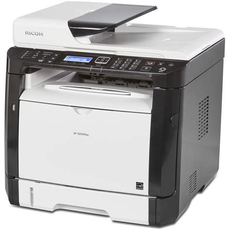 Printer Laser Ricoh Ricoh Sp 325sfnw All In One Monochrome Laser Printer 407983 B H