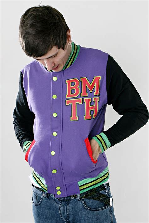 Vest Hoodie Bring Me The Horizon Bmth Jaket Rompi Yomerch bring me the horizon bmth purple college jacket impericon worldwide