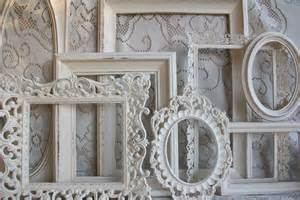 shabby chic white frame white picture frame set shabby chic large heirloom white