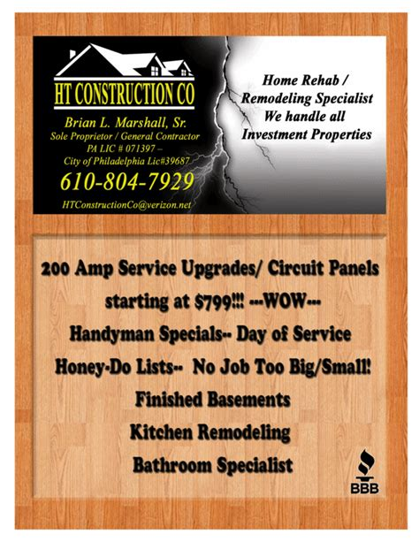 construction flyer templates flyer