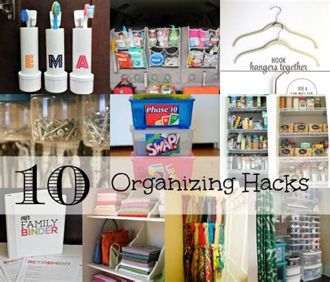 organizing hacks 10 organizing hacks for the home family focus