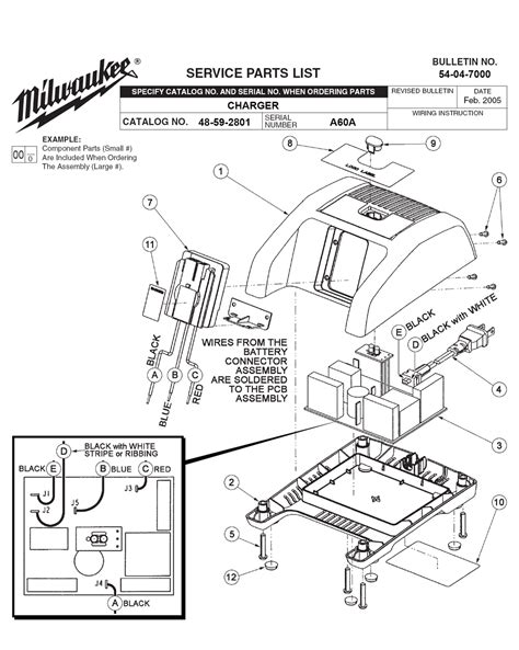resetting milwaukee battery buy milwaukee 48 59 2801 a60a charger replacement tool