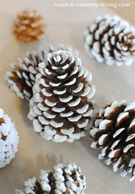 pine cones crafts pine cone trees town country living