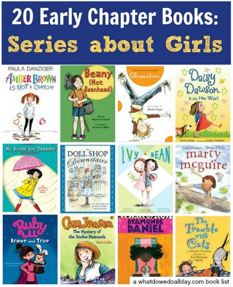 best book series best early chapter books series about girls book series