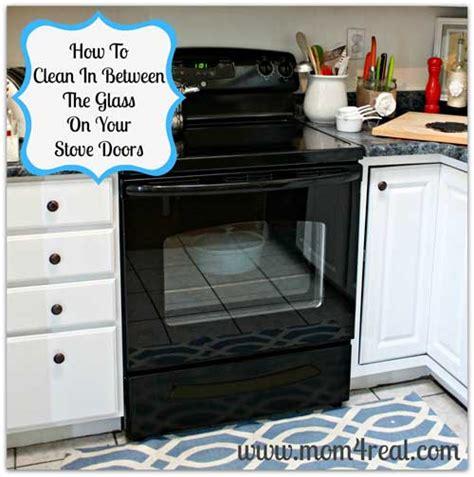 Cleaning Oven Glass Door How To Clean An Oven Door Between The Glass Useful Ideas