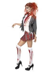 School girl zombie costume image 2