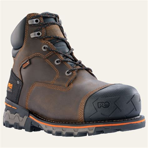timberland work boots for timberland s pro boondock 6 quot composite toe work boots