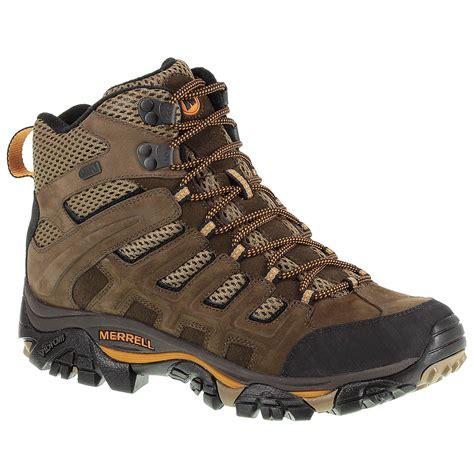 merrell s moab peak mid ventilator wp hiking boots